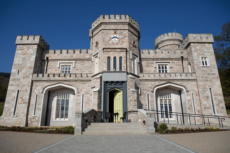 Killeavy Castle Estate after restoration.