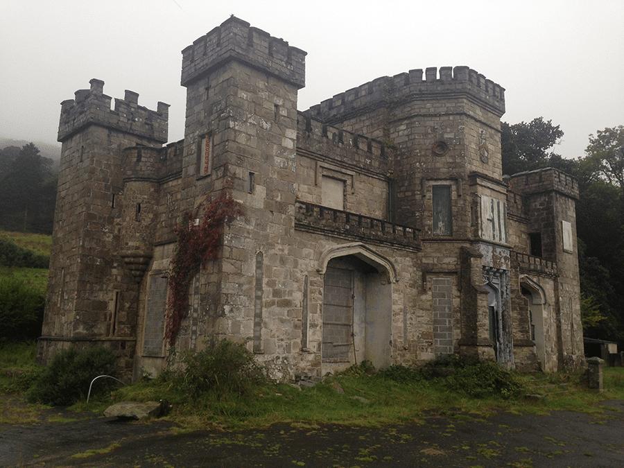 Killeavy Castle Estate before restoration.