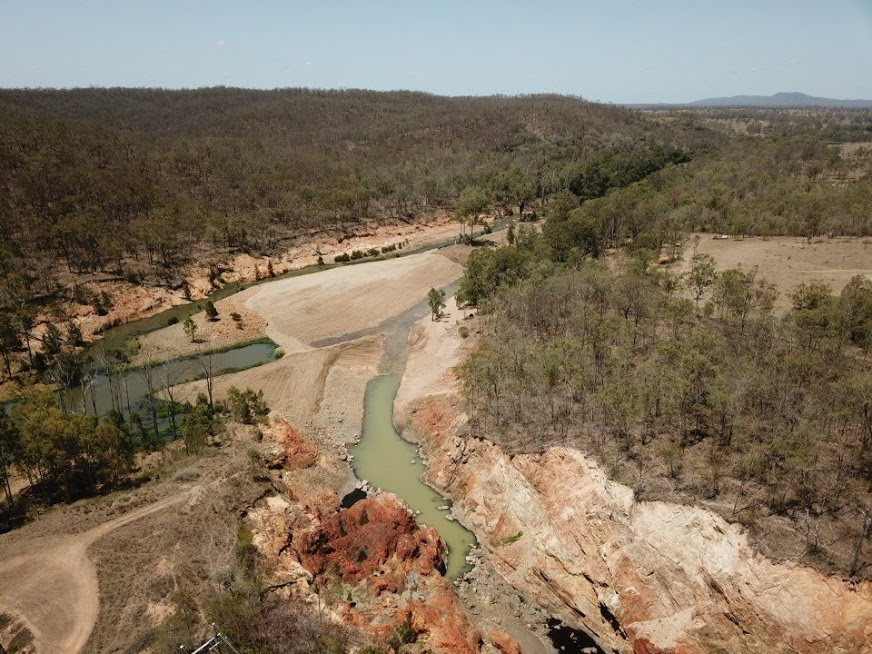 Fred Haigh Dam Drone Image