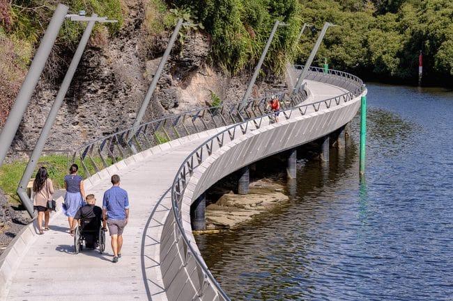Parramatta Escarpment Boardwalk Completed